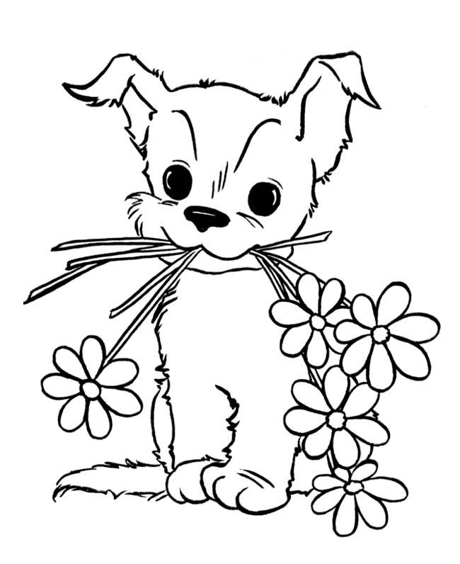 Free Printable Animals Coloring Sheets